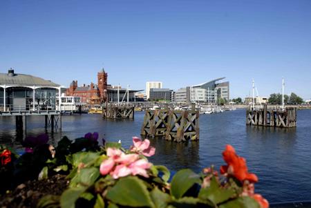 Cardiff bay, Wales, UK