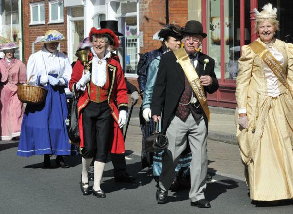 Victorian Festival Parade, Llandrindod Wells.