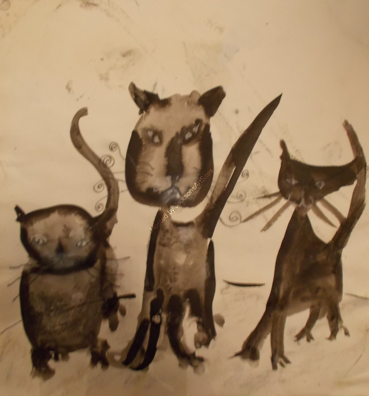 drawing cats doodle