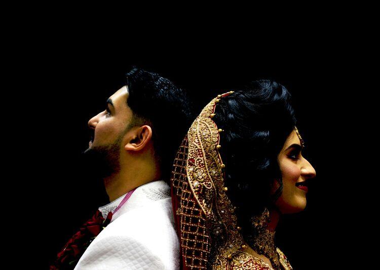 Atif and Henna