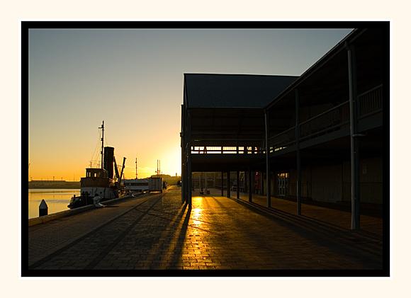 Morning Rise Port Adelaide Docks