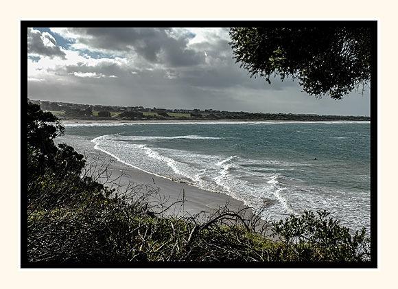 Lone Surfer Torquay Victoria