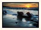Sun Setting Hallett Cove Beach