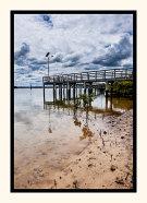 Boardwalk under Cloud