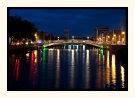 Lights On Ha'Penny Bridge Dublin