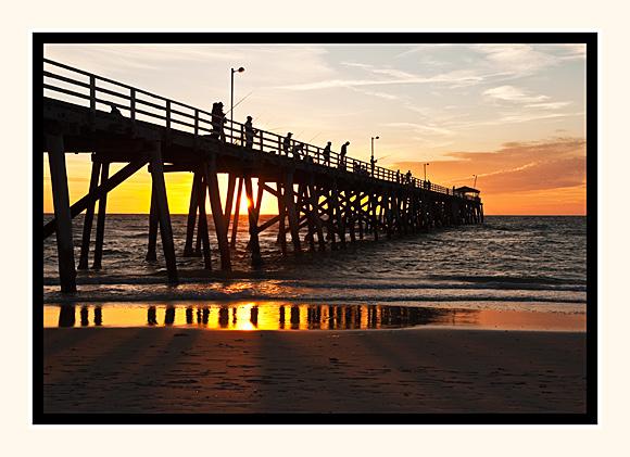 Sunset Fishing  Grange Jetty