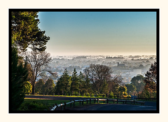 Foggy Mount Gambier