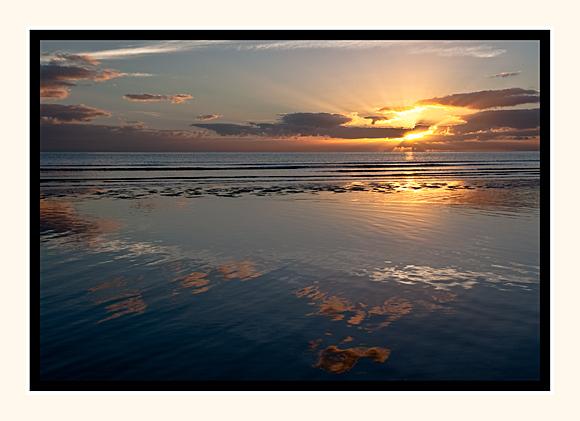 Reflecting Sunrise, Port Douglas
