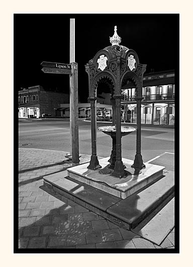 Lipson St Corner Drinking Fountain
