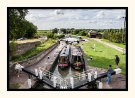 Busy day at the Three Locks