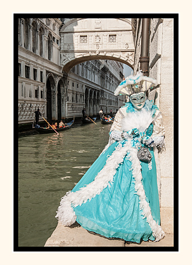 Blue Beauty at the Bridge of Sighs