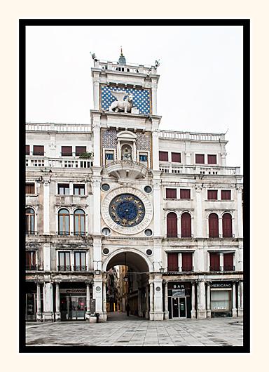 Torre dell'Orologio, Venice