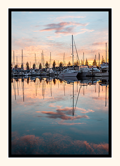 Pastel Reflections
