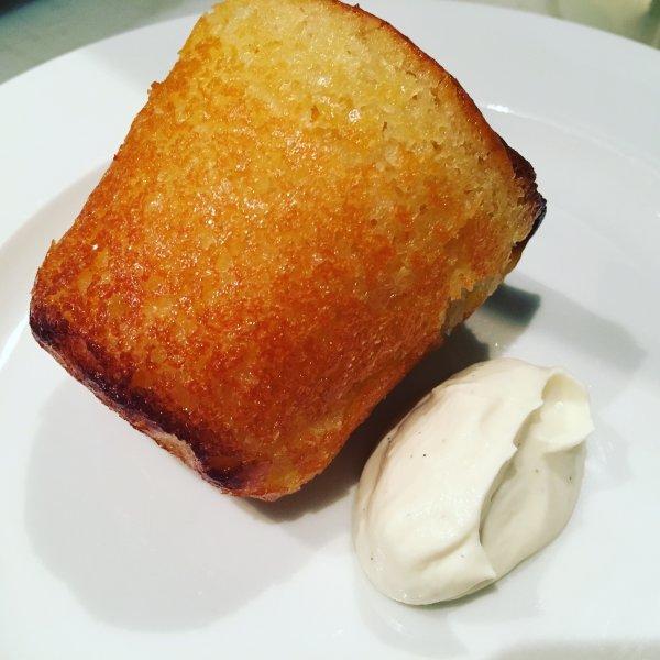 Rhum baba, vanilla cream