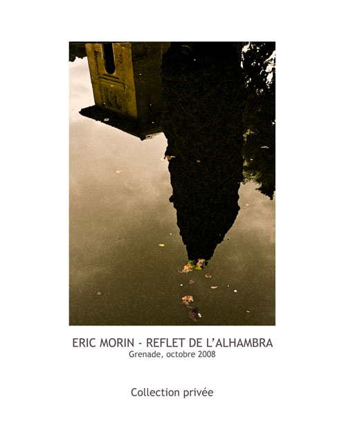 """Reflection of the Alhambra"""