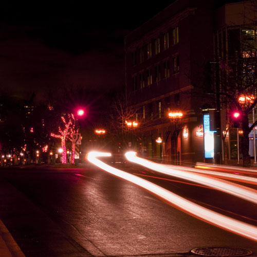 """++SOLD++<br> <br> """"Midnight on McGill"""" from the """"Night Scenes"""" Series"""