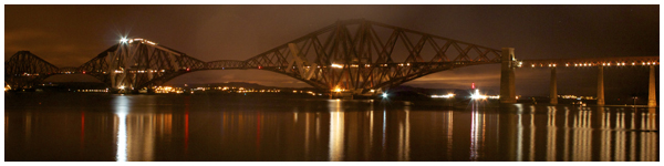 Forth Bridge Reflection