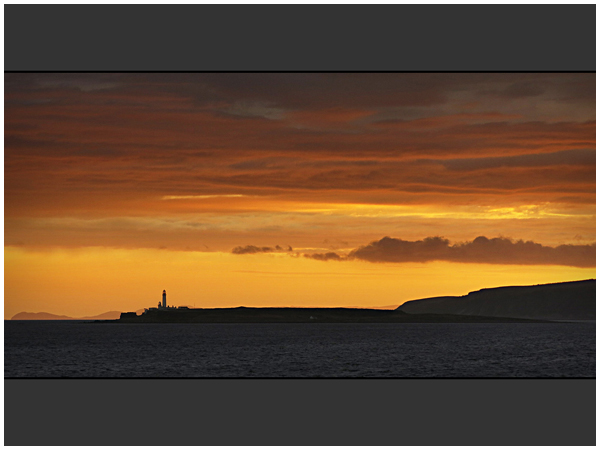 Pladda Sunset