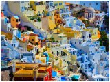 Santorini on the edge
