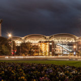 Oval at Night