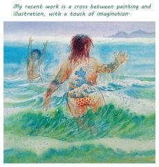 18. Hokusai's Wave  (detail)