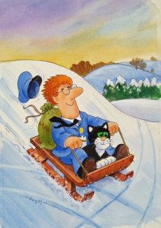 Pat sledging