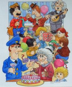 34.Granny Dryden's Party.