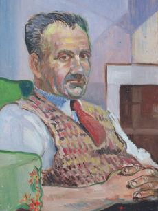 3a. Oils portrait at 19