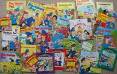 Some of Ray's Postman Pat books