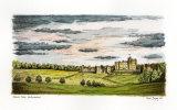 'Alnwick Castle' - signed limited edition fine art print