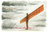 Angel of the North (in colour)