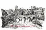 Durham Cathedral with Elvet Bridge