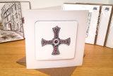 St. Cuthbert's Cross Coaster Card