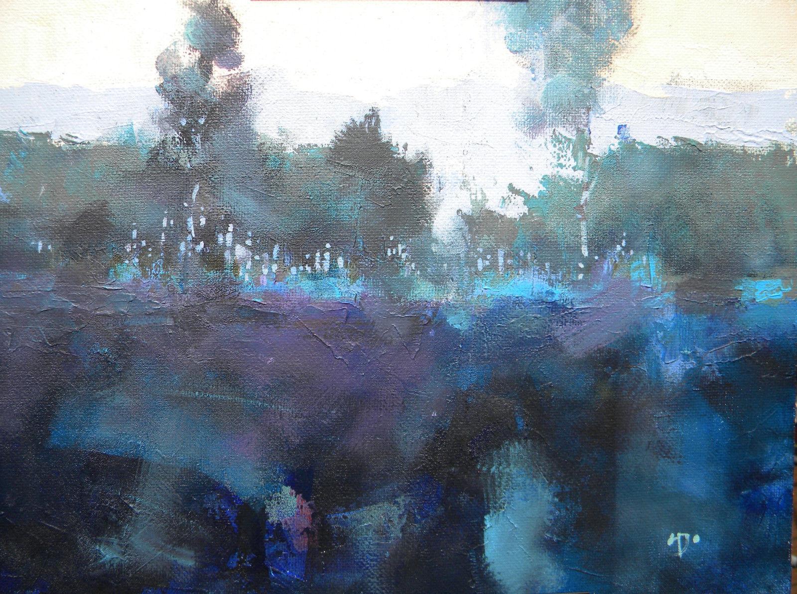 ac73 Blue morning Brecon