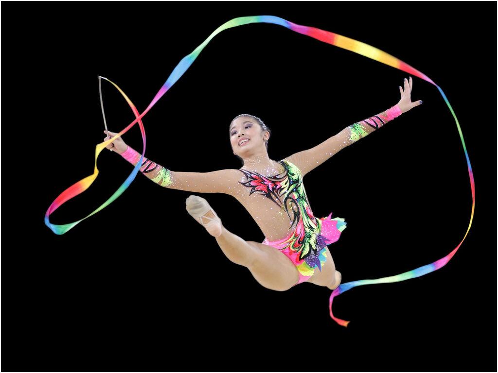 Rainbow Ribbon by Linda Gore 12 A