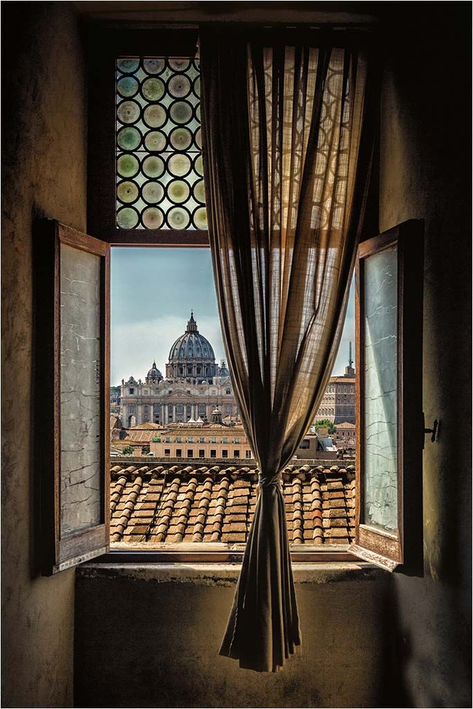 The Basilica Through the Window by Jayne Hutchings 11 A