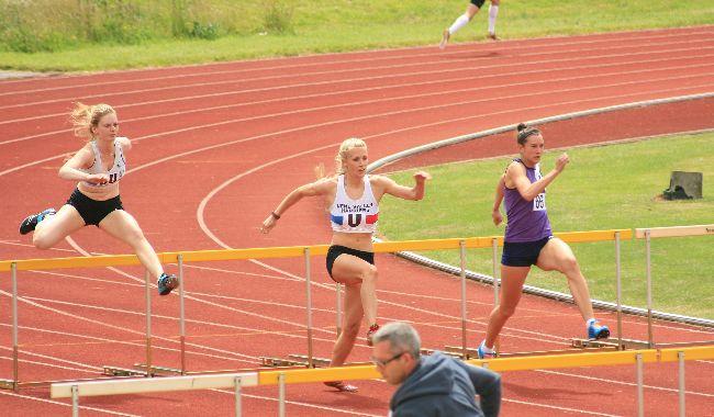 Emily Rosie  hurdles