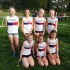 The winning U13 Girls Team