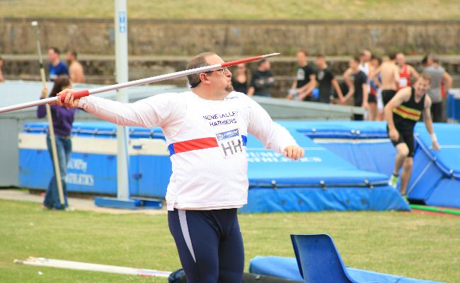 Simon Achurch javelin
