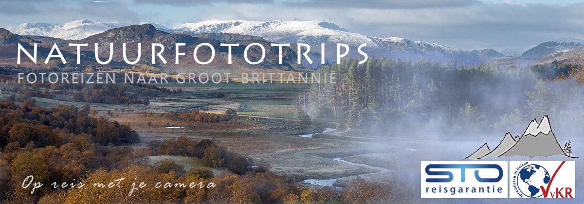 Natuurfototrips: fotoreizen naar Groot-Brittanië