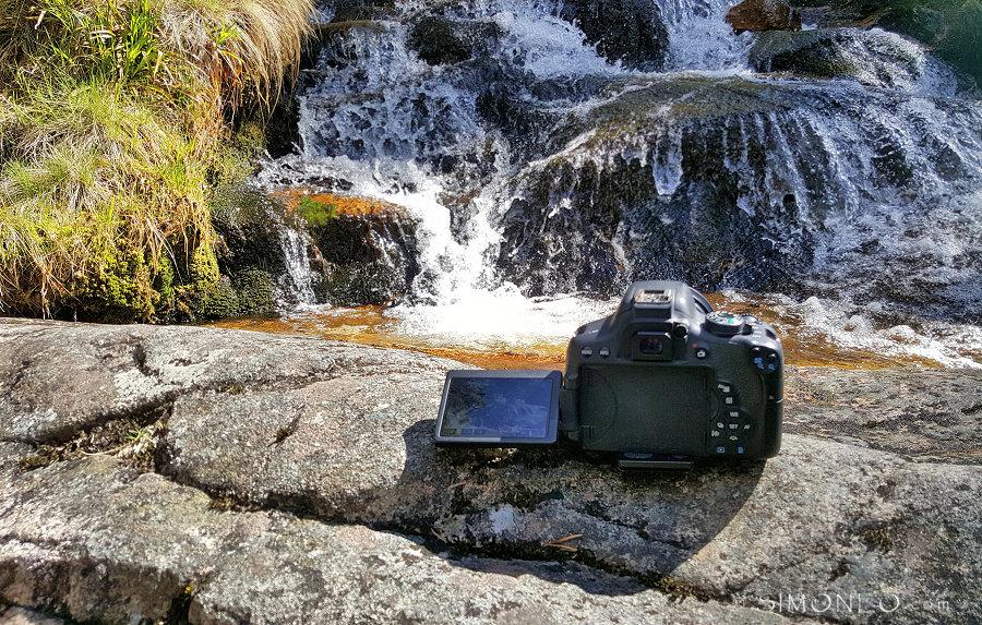 Wtaerval in Glen Feshie, the making of (gefoto maakt met mijn mobiel)