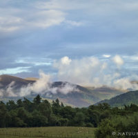 Cairngorms gezien vanuit Aviemore
