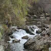 Cluny Falls, Braemar, Schotland
