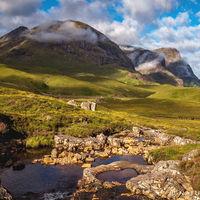 Three Sisters in Glencoe. Natuurfototrips fotoreis naar Schotland