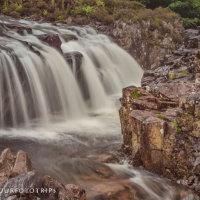 Waterval, Schotland. Natuurfototrips fotografiereis naar het groene hart van de highlands