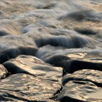 Water stroomt... noordzee