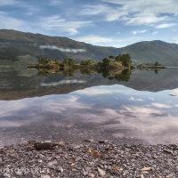 Loch Leven spiegeling