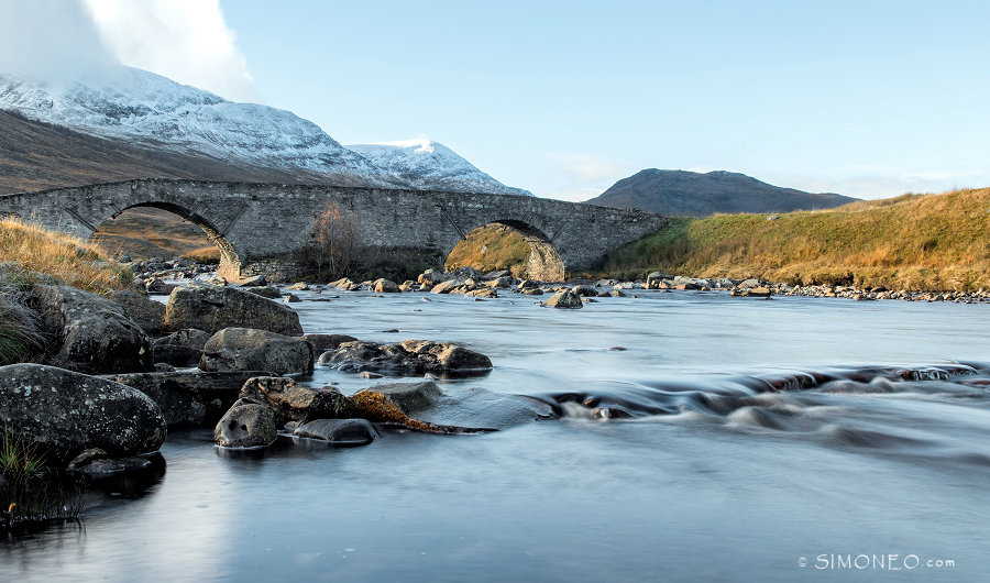 Ruig Schotland, images of the river Spey