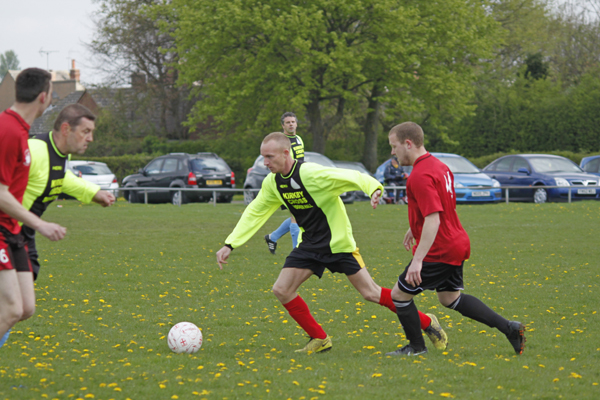 Kirkby Cross Charity Football Match