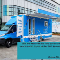 Man with a Van - Cancer Research
